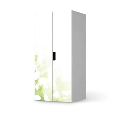 Möbelfolie IKEA Stuva / Malad Schrank - 2 grosse Türen - Flower Light