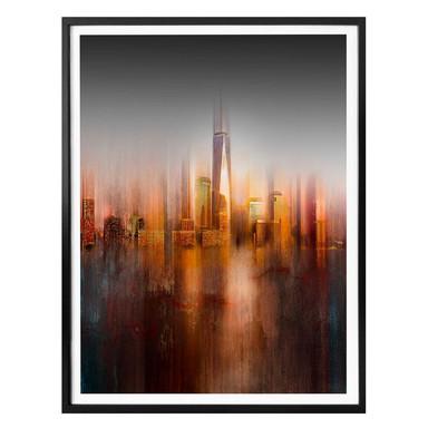 Poster Chiriaco - New York im Abendlicht