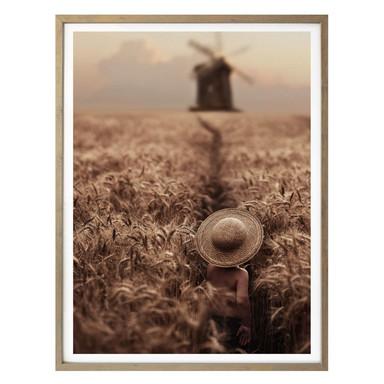 Poster Dubnitskiy - Der Junge im Feld