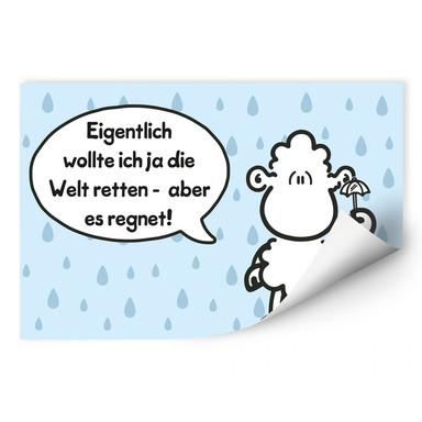 Wallprint sheepworld Worthelden Welt retten