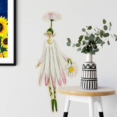 Wandtattoo Leffler - Blütenelfe August