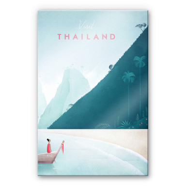 Acrylglasbild Rivers - Thailand