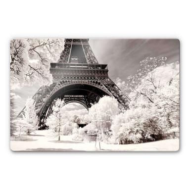 Glasbild Hugonnard - Winterfeeling in Paris
