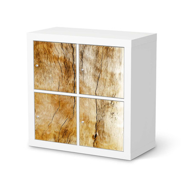 Klebefolie IKEA Kallax Regal 4 Türen - Unterholz