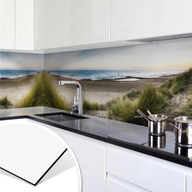 Küchenrückwand - Alu-Dibond - Strandpanorama