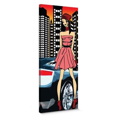 Leinwandbild Urban Girl Streetstyle