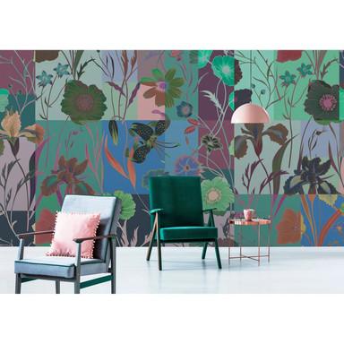 Livingwalls Fototapete Walls by Patel 2 floral patch 2 - Bild 1