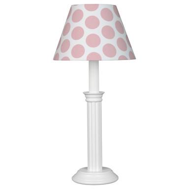 Stilvolle Tischleuchte Bubbles XL in rosa, 1-flammig