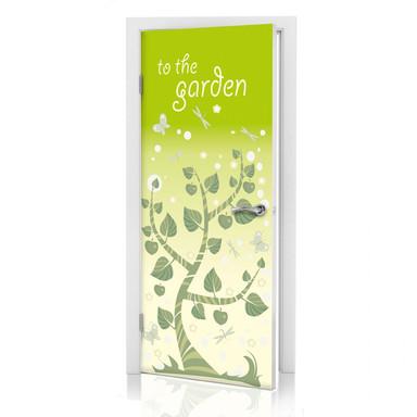 Türdeko Gartentür
