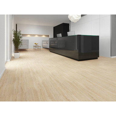 Vinyl-Designboden JOKA 555 | Travertine 415