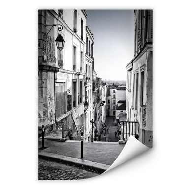 Wallprint Montmartre