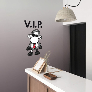 Wandsticker sheepworld VIP