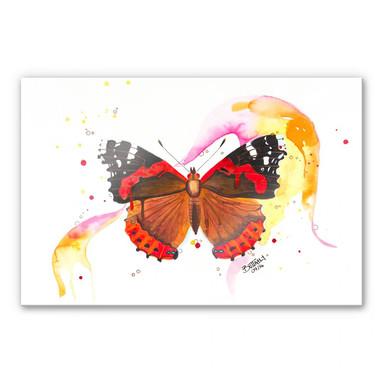 Acrylglasbild Buttafly - Vanessa Athalanta