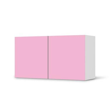 Folie IKEA Besta Regal 2 Türen (quer) - Pink Light- Bild 1