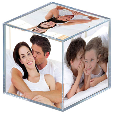Foto Würfel Acryl transparent - Bild 1