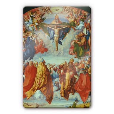 Glasbild Dürer - Das Allerheiligenbild