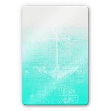 Glasbild Sail away