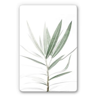 Glasbild Sisi & Seb - Oleander