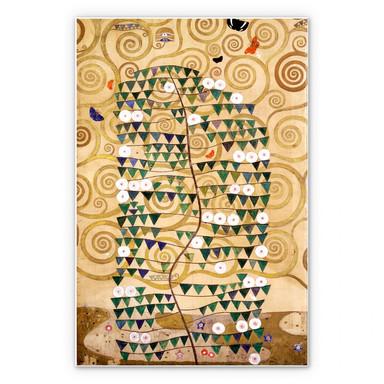 Hartschaumbild Klimt - Entwurf für den Stocletfries