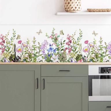 Küchenrückwand - Alu Dibond - Sommerwiese