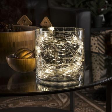 LED Lichterkette in Silber 702x 0.01W warmweiss 2.7m