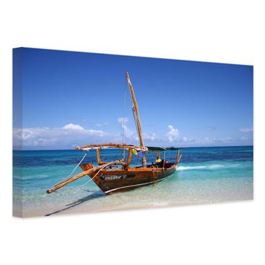 Leinwandbild Caribbean Sailboat