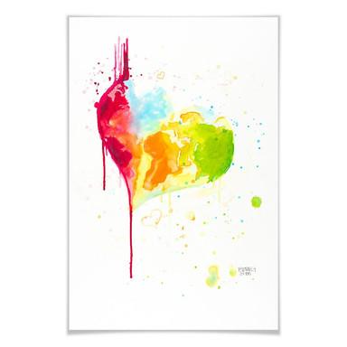Poster Buttafly - Heart World