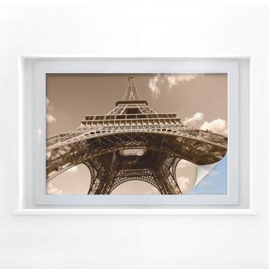Sichtschutzfolie Eiffelturm Perspektive