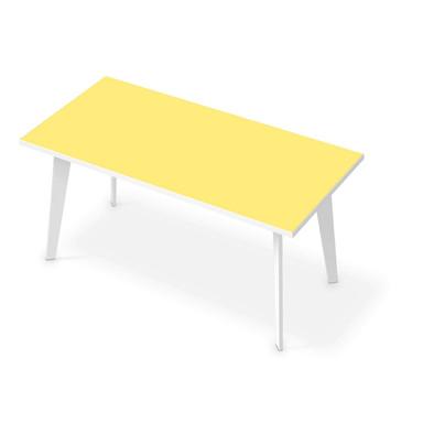 Tischfolie - Gelb Light
