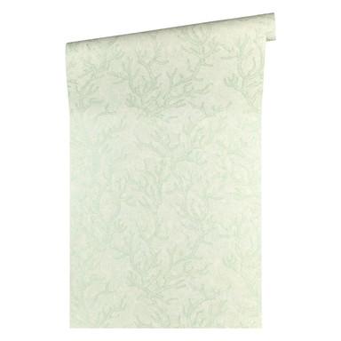 Versace wallpaper Tapete Les Etoiles de la Mer grün, metallic