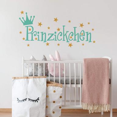 Wandtattoo Prinzickchen (2-farbig)