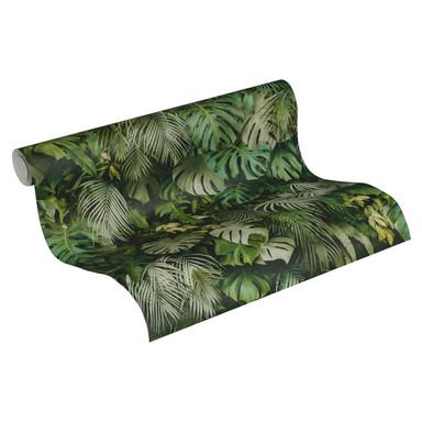 A.S. Création Vliestapete Greenery Dschungeltapete grün
