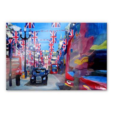 Acrylglasbild Bleichner - Londoner Impressionen