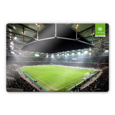 Glasbild VfL Wolfsburg Volkswagen Arena
