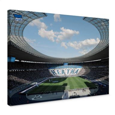 Leinwandbild Hertha BSC - Stadion am Tag