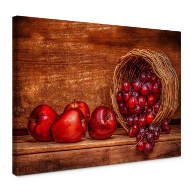 Leinwandbild Perfoncio - Rote Früchte