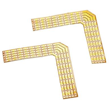 Lötecken 90°, für Flex Strip LED RGBW 24V, max. 2A, 2 Stück