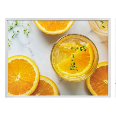 Poster Frische Orange