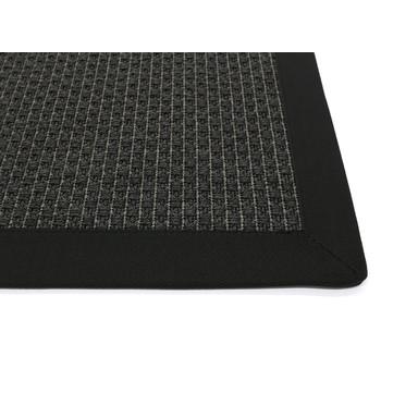 Thore Outdoor Bordürenteppich   Wunschmass   Rechteckig   Black   2501