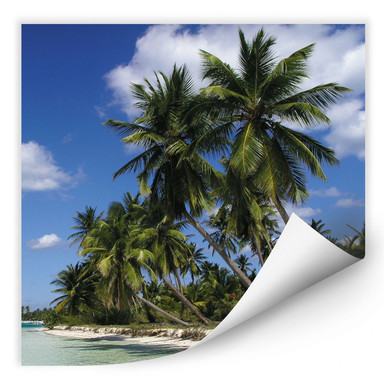 Wallprint Carribean Flair - quadratisch