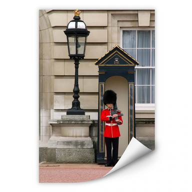 Wallprint Guarding the Buckingham Palace