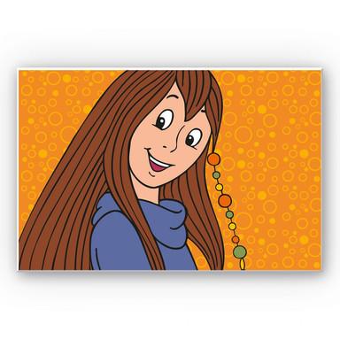 Wandbild Bibi Blocksberg - Junghexe Xenia