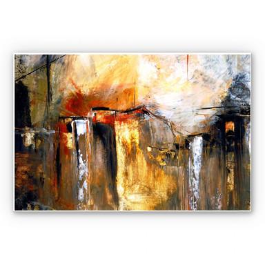 Wandbild Niksic - Licht und Landschaft