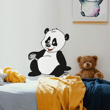 Wandsticker Benjamin Blümchen Panda Baby