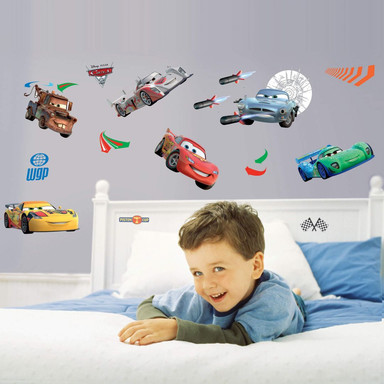 Wandsticker-Set Disney Cars - Bild 1