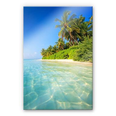 Acrylglasbild Colombo – Die Malediven