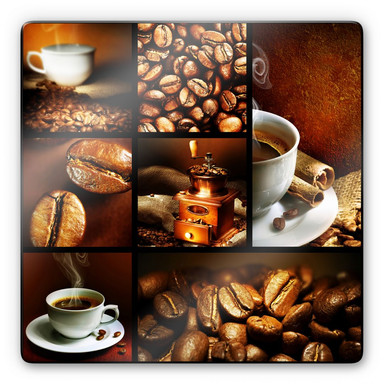 Glasbild Enjoy Coffee
