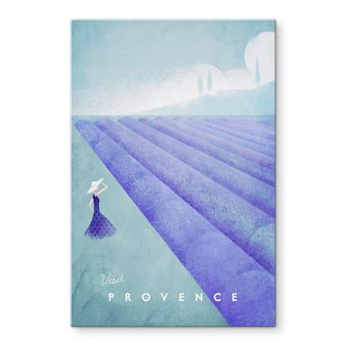 Glasbild Rivers - Provence
