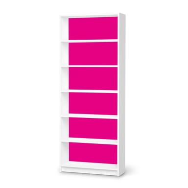Klebefolie IKEA Billy Regal 6 Fächer - Pink Dark- Bild 1