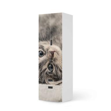 Klebefolie IKEA Stuva / Malad - 3 Schubladen und 2 grosse Türen - Kitty the Cat- Bild 1